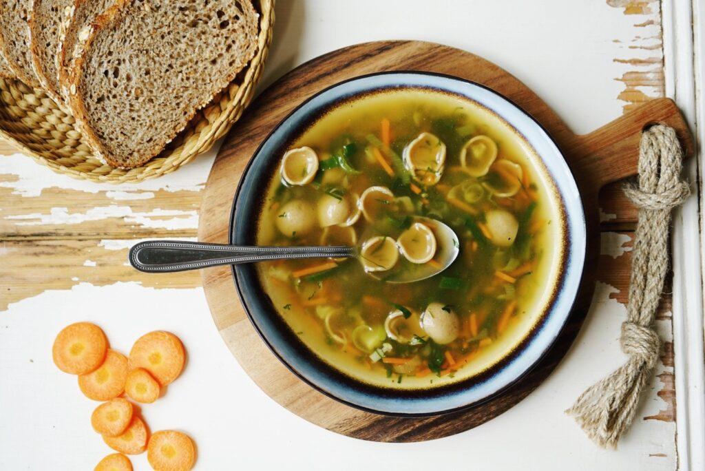 zwampasta-groentesoep